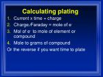 calculating plating1