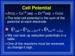 cell potential1