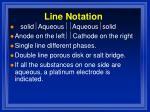 line notation
