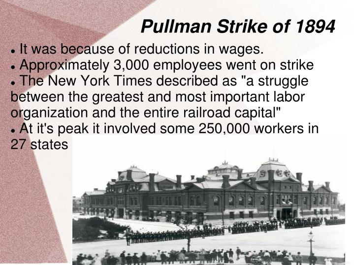 why is the pullman strike important