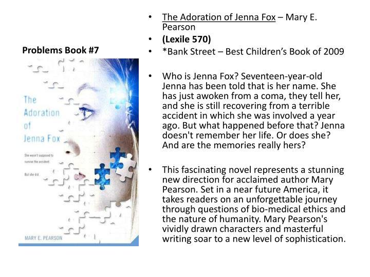 the adoration of jenna fox essay