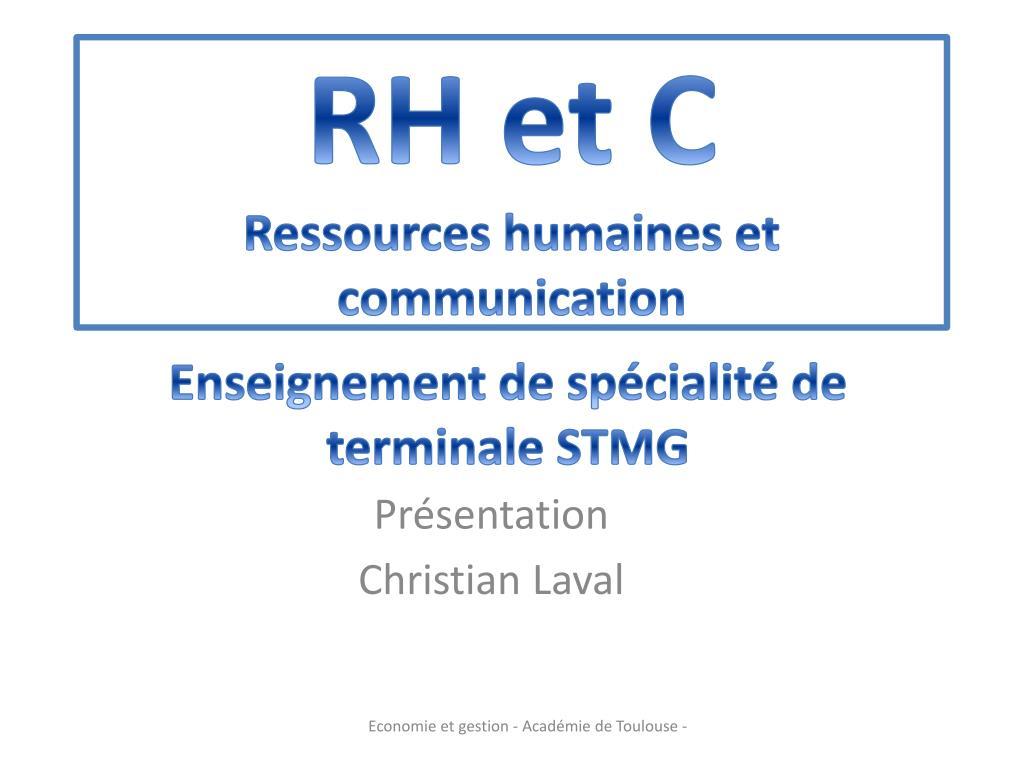Ppt Rh Et C Ressources Humaines Et Communication Powerpoint Presentation Id 1878809