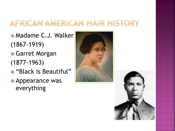 African American hair history