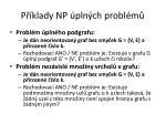 p klady np pln ch probl m1