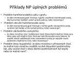 p klady np pln ch probl m2