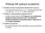 p klady np pln ch probl m3