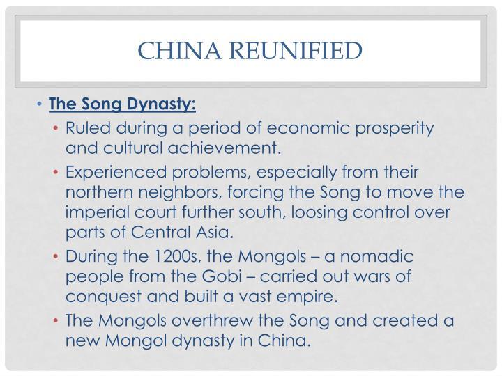China Reunified