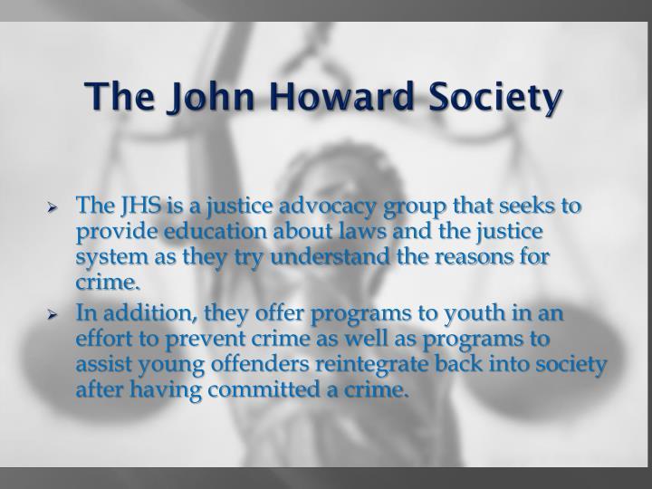 The John Howard Society