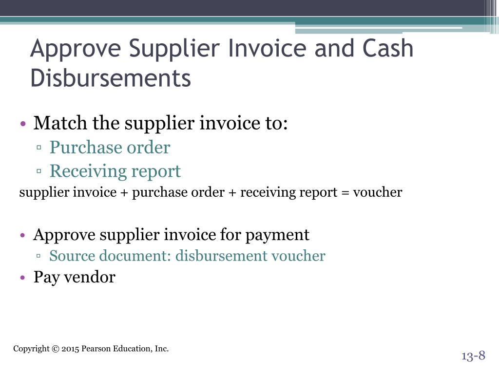 PPT - The Expenditure Cycle: Purchasing to Cash ...