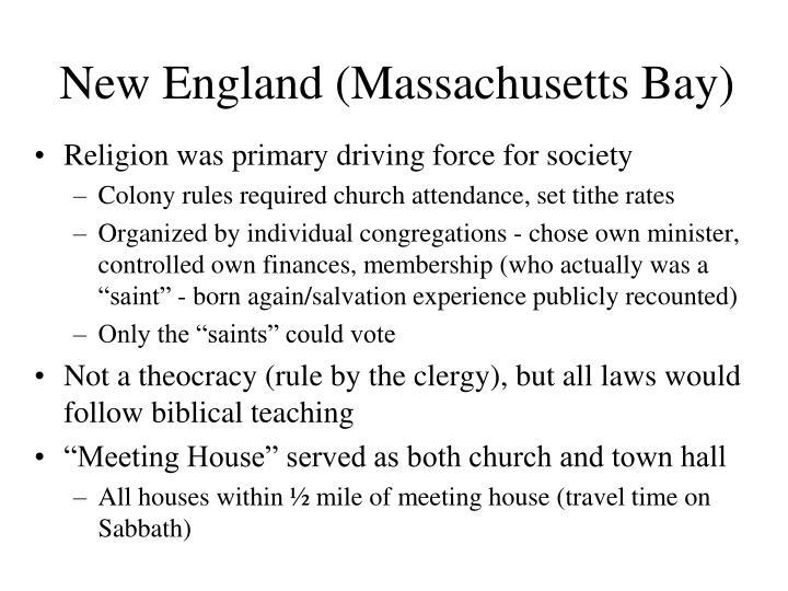 New England (Massachusetts Bay)