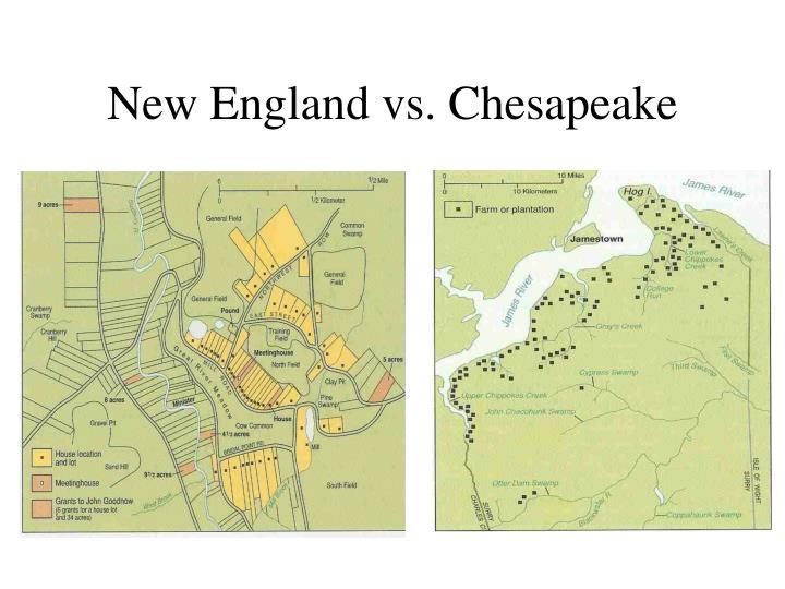 New England vs. Chesapeake