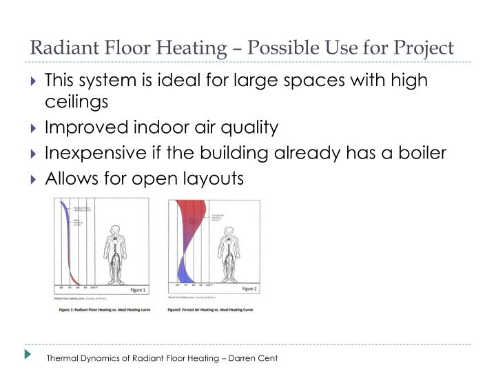 Radiant Floor Heating – Possible Use for Project