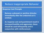 reduce inappropriate behavior3