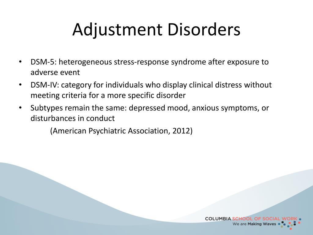 PPT - DSM-5: Trauma and Stress-Induced Disorders ...