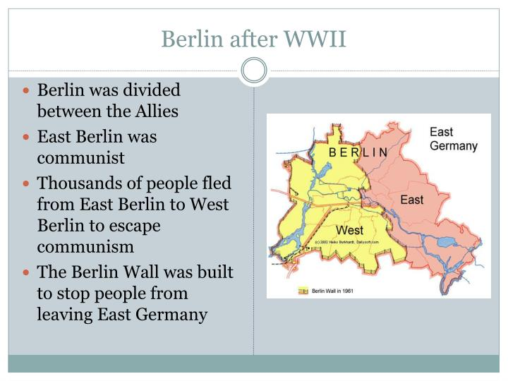 Berlin after wwii