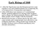 early risings of 1848