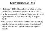 early risings of 18481