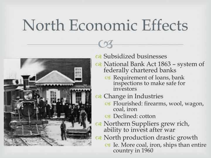 economic impact of the civil war essay Essay 1-- evaluate the impact of the civil war on political and economic developments in each of the following regions: the north, the south, the westfocus your answer on the period between 1865 and 1900.