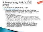 9 interpreting article 20 2 iccpr
