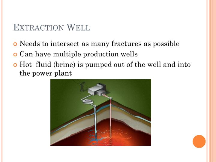 Extraction Well