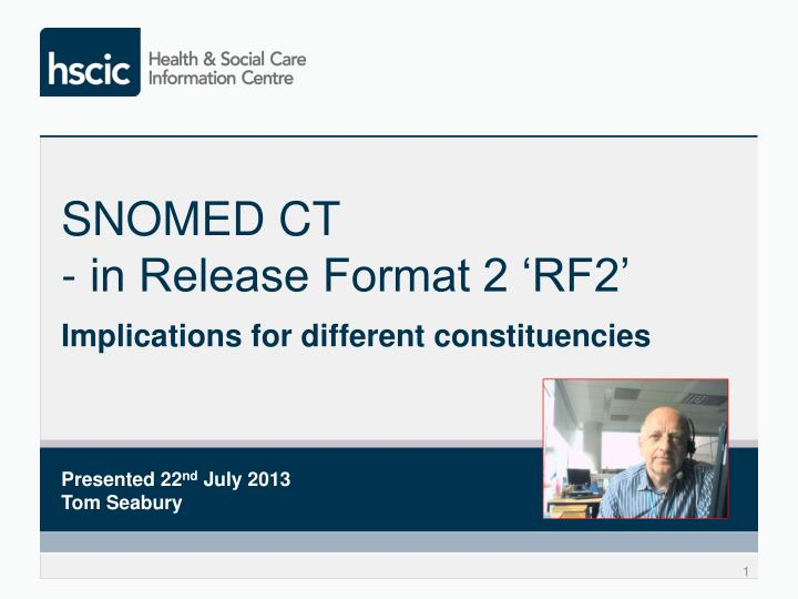 snomed ct in release format 2 rf2 n.