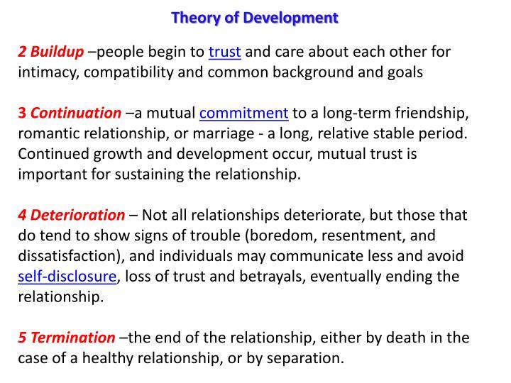 Theory of Development