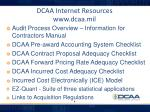 dcaa internet resources www dcaa mil