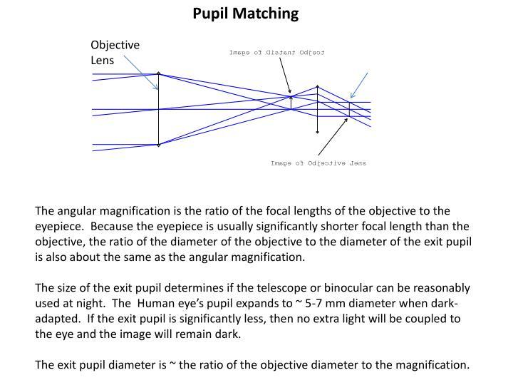 Pupil Matching