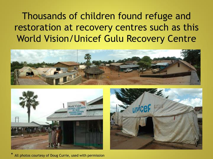 Thousands of children found refuge and restoration at recovery