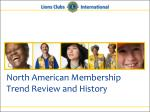 north american membership trend review and history