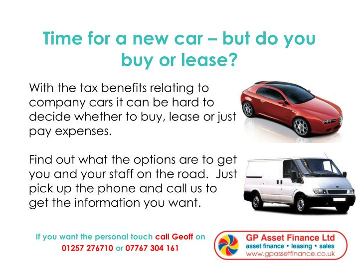 Time for a new car – but do you buy or lease?