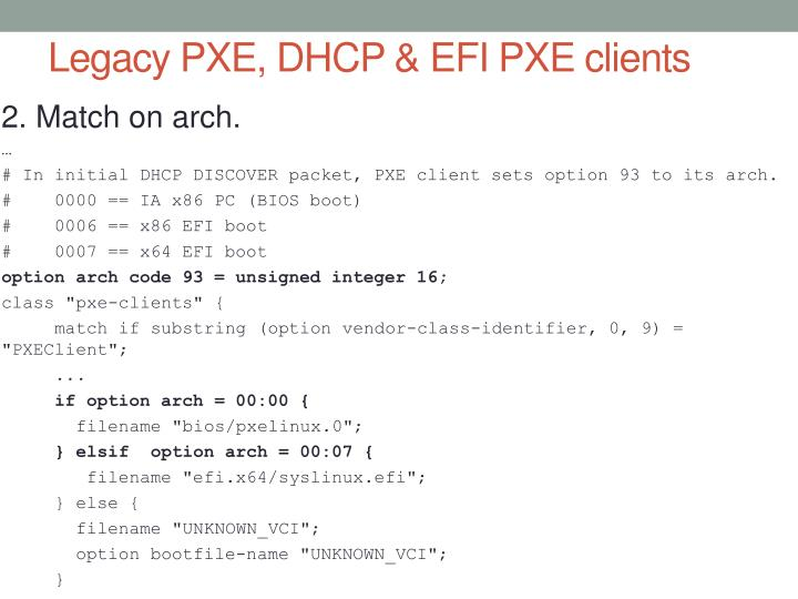PPT - Creating a  legacy   EFI  PXE server using pxelinux PowerPoint ... daf4bc9108