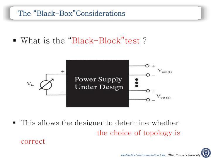 "The ""Black-"