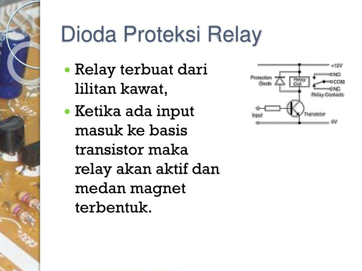 Dioda Proteksi Relay