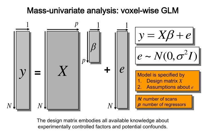 Mass-univariate analysis: voxel-wise GLM