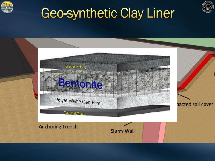Geo synthetic clay liner