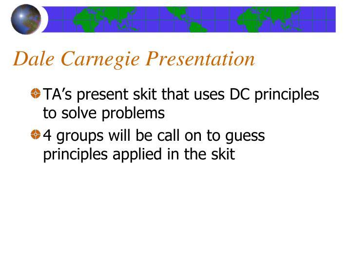 Dale Carnegie Presentation