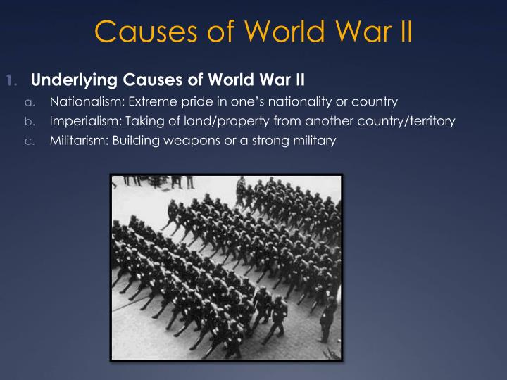 nationalism militarism and imperialism as the underlying causes of world war i