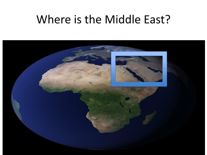 Where is the middle east