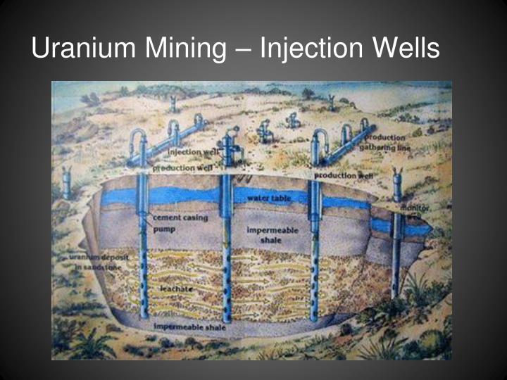 Uranium Mining – Injection Wells