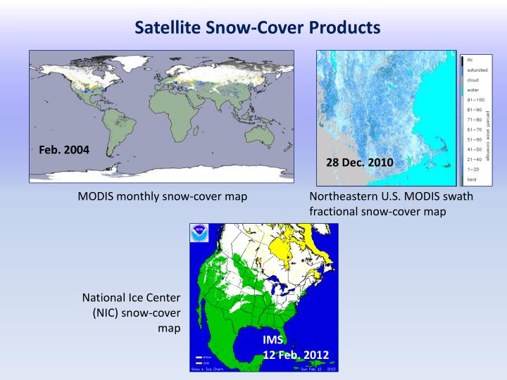 Satellite Snow-Cover Products