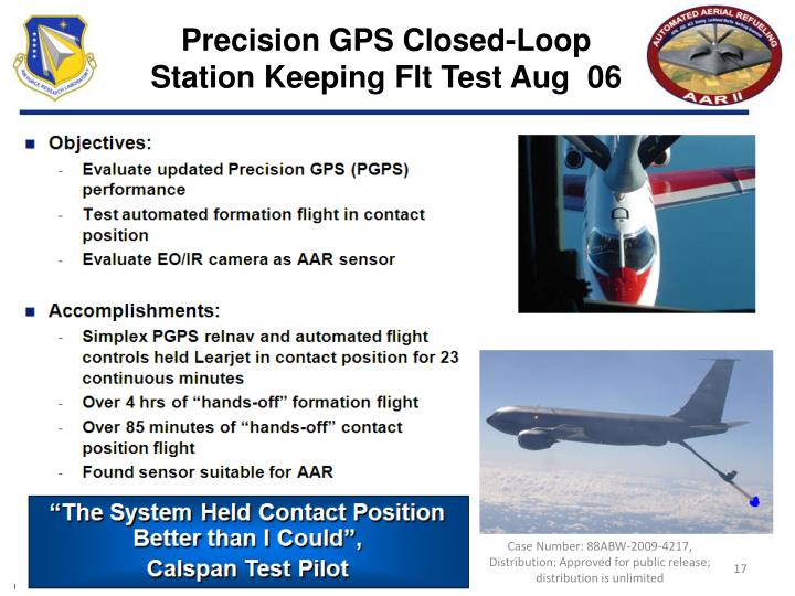 Precision GPS Closed-Loop
