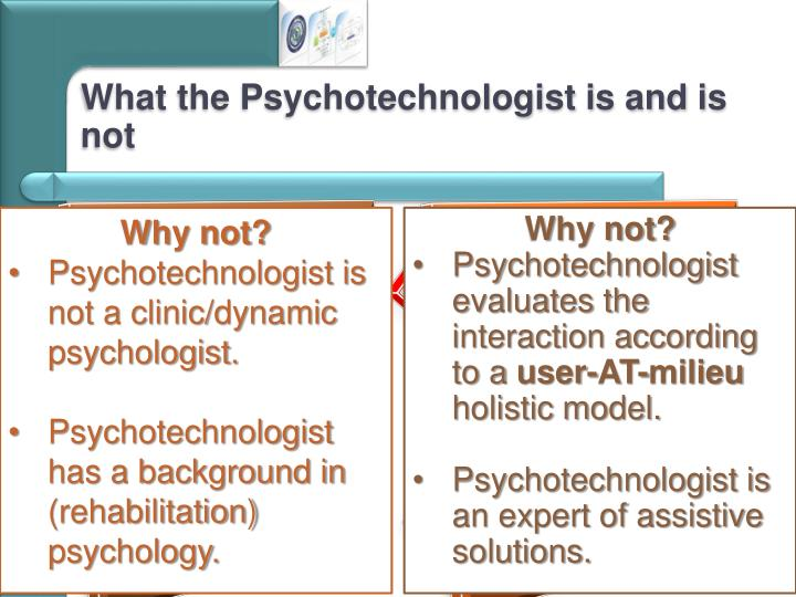 What the Psychotechnologist is and is not