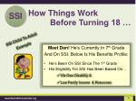 how things work before turning 181