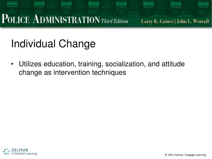 Individual Change