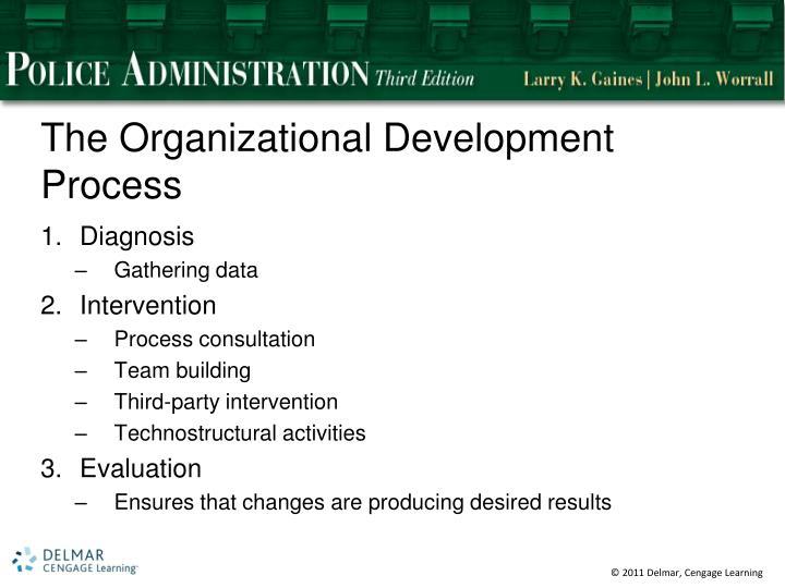 The Organizational Development Process
