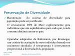 preserva o de diversidade1