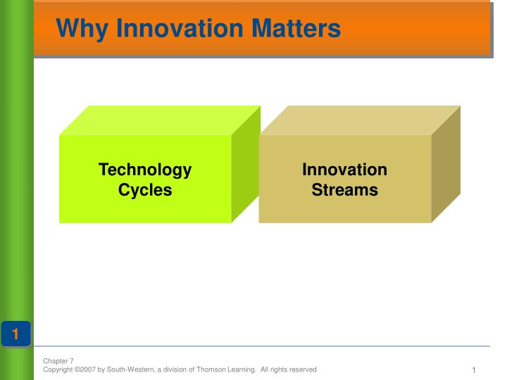 why innovation matters n.