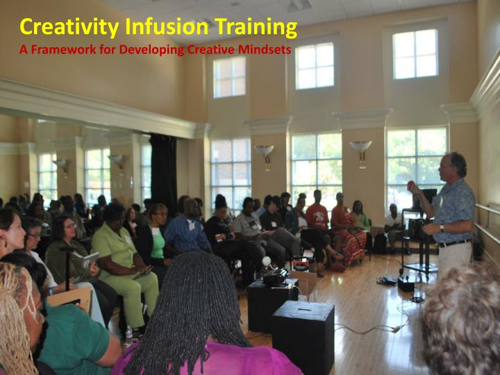 Creativity Infusion Training