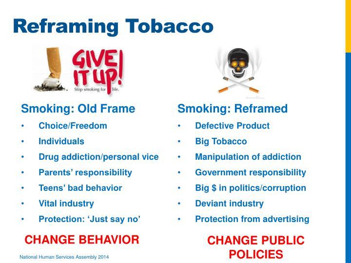 Reframing Tobacco
